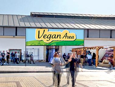 Ένα ξεχωριστό section αφιερωμένο στους vegans